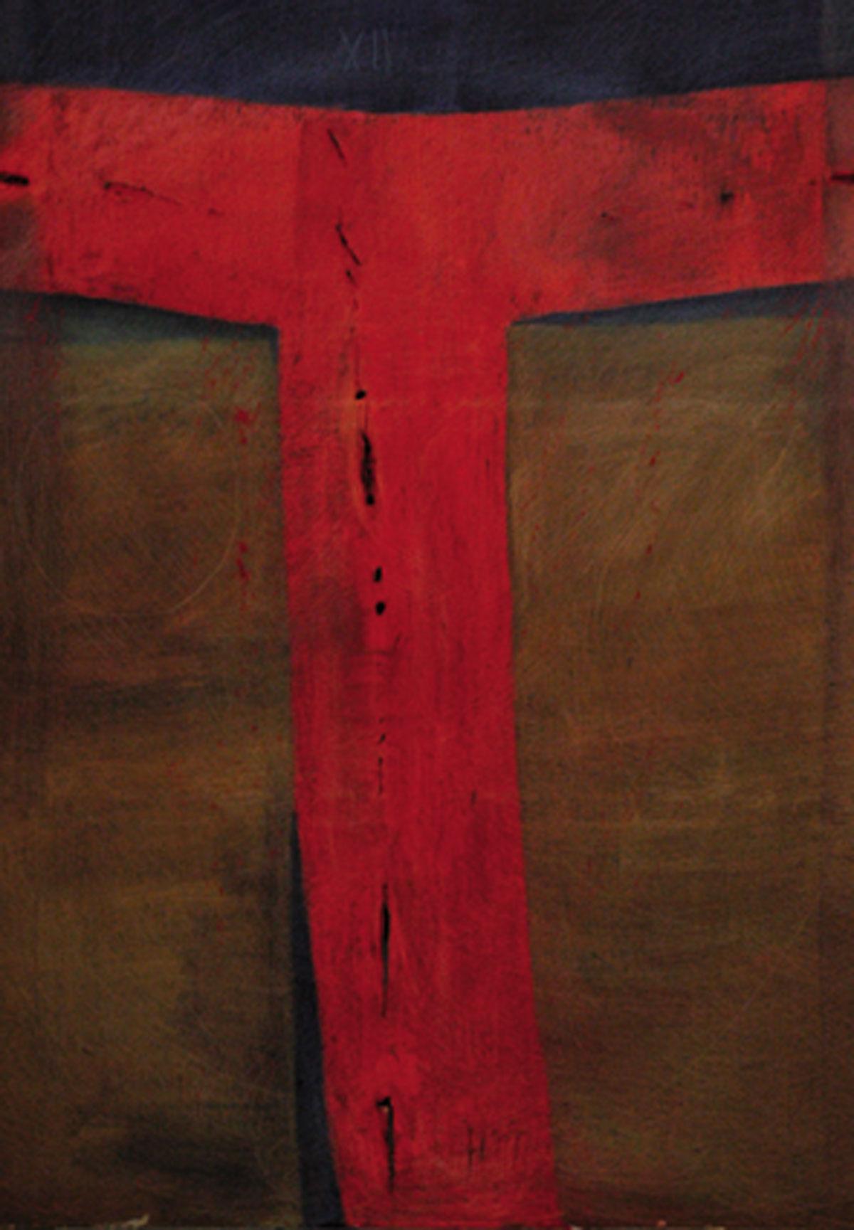Andreas Felger, ohne Titel (Kreuzigung XII), 1998,