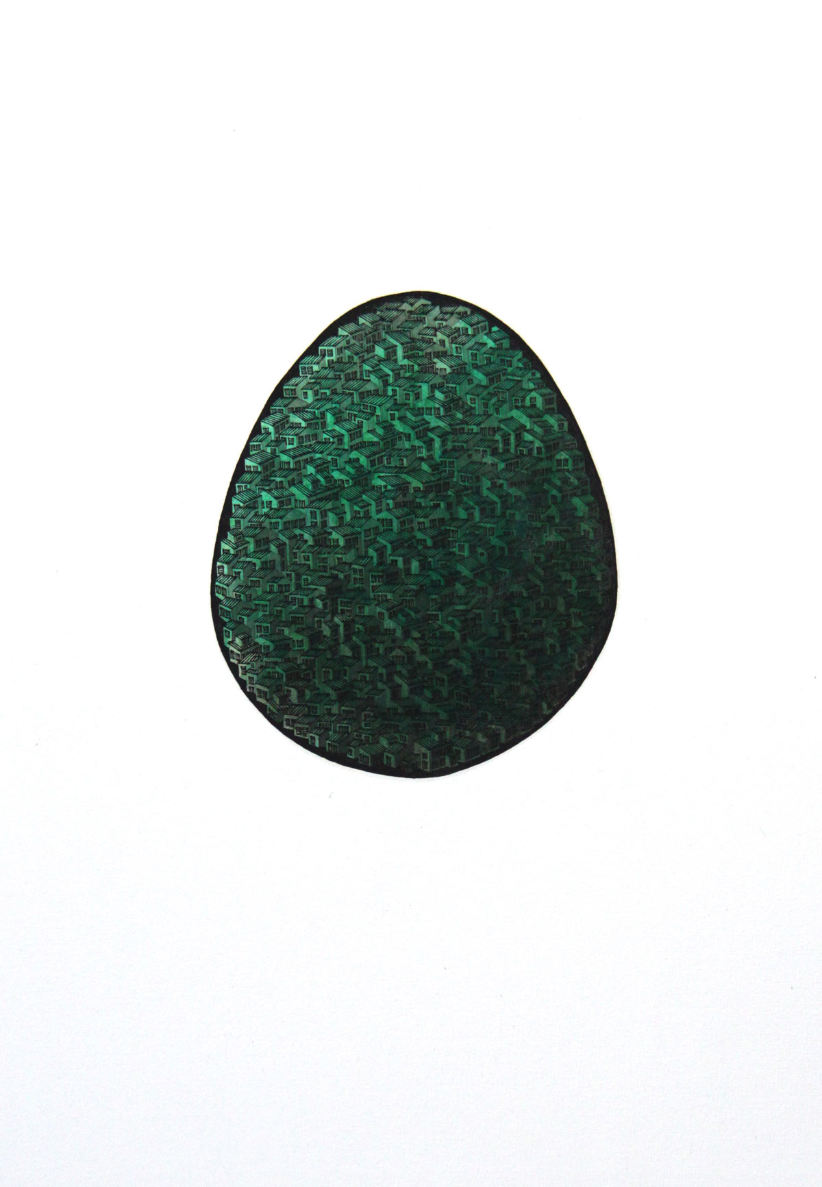 Philip Wolf: Huevo verde