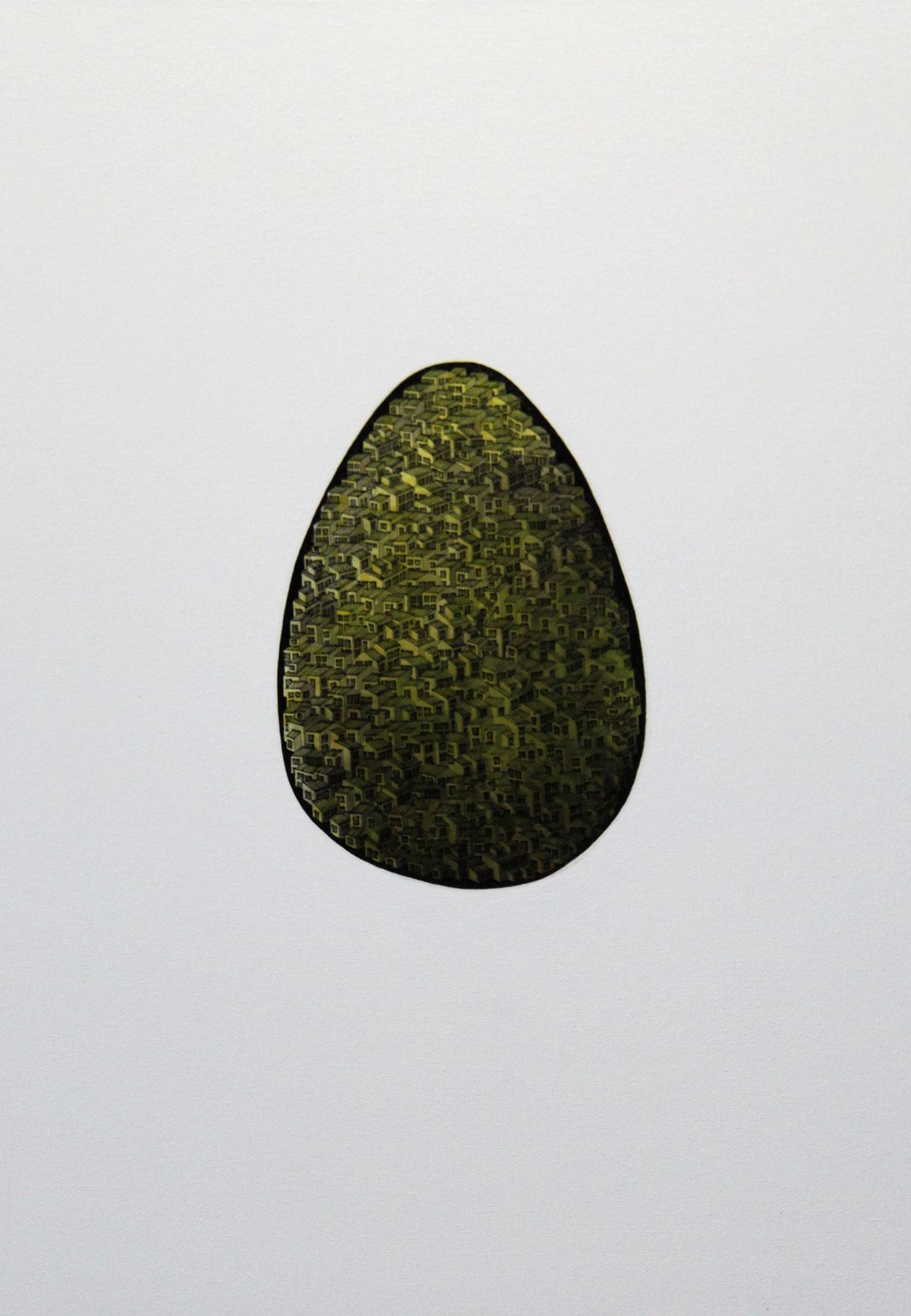 Philip Wolf: Huevo amarillo
