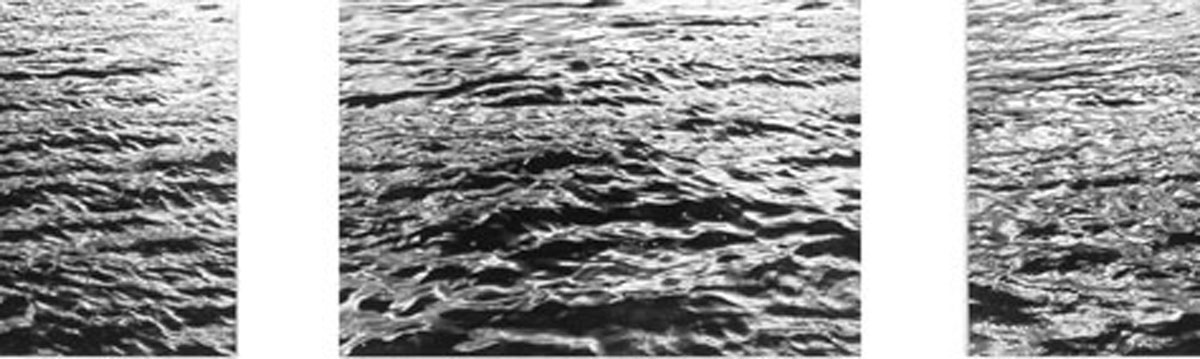 Hans-Martin Asch: Wasser Triptychon, Rhein 29.09.04, Wiesbaden Biebrich