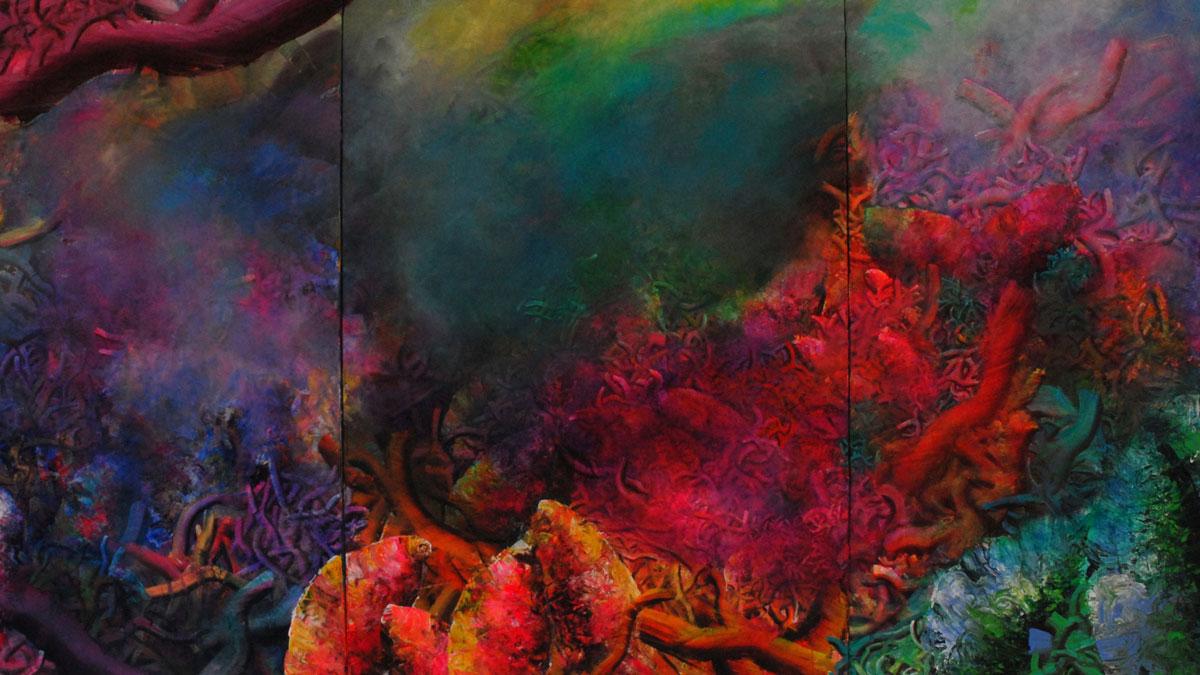 Ulrike Donié: Tristan, Triptychon