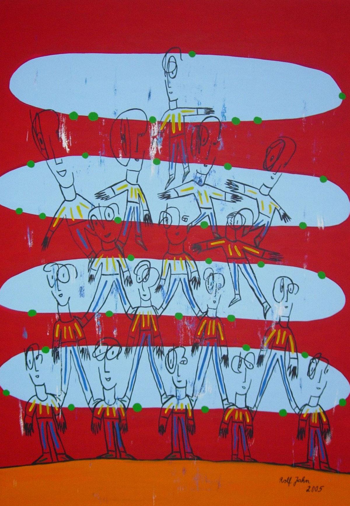 Rolf Jahn: Bevölkerungspyramide 2005