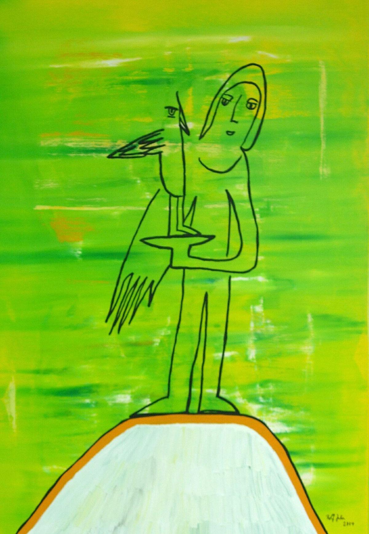 Rolf Jahn: Alpiner Vogelfreund, 2004