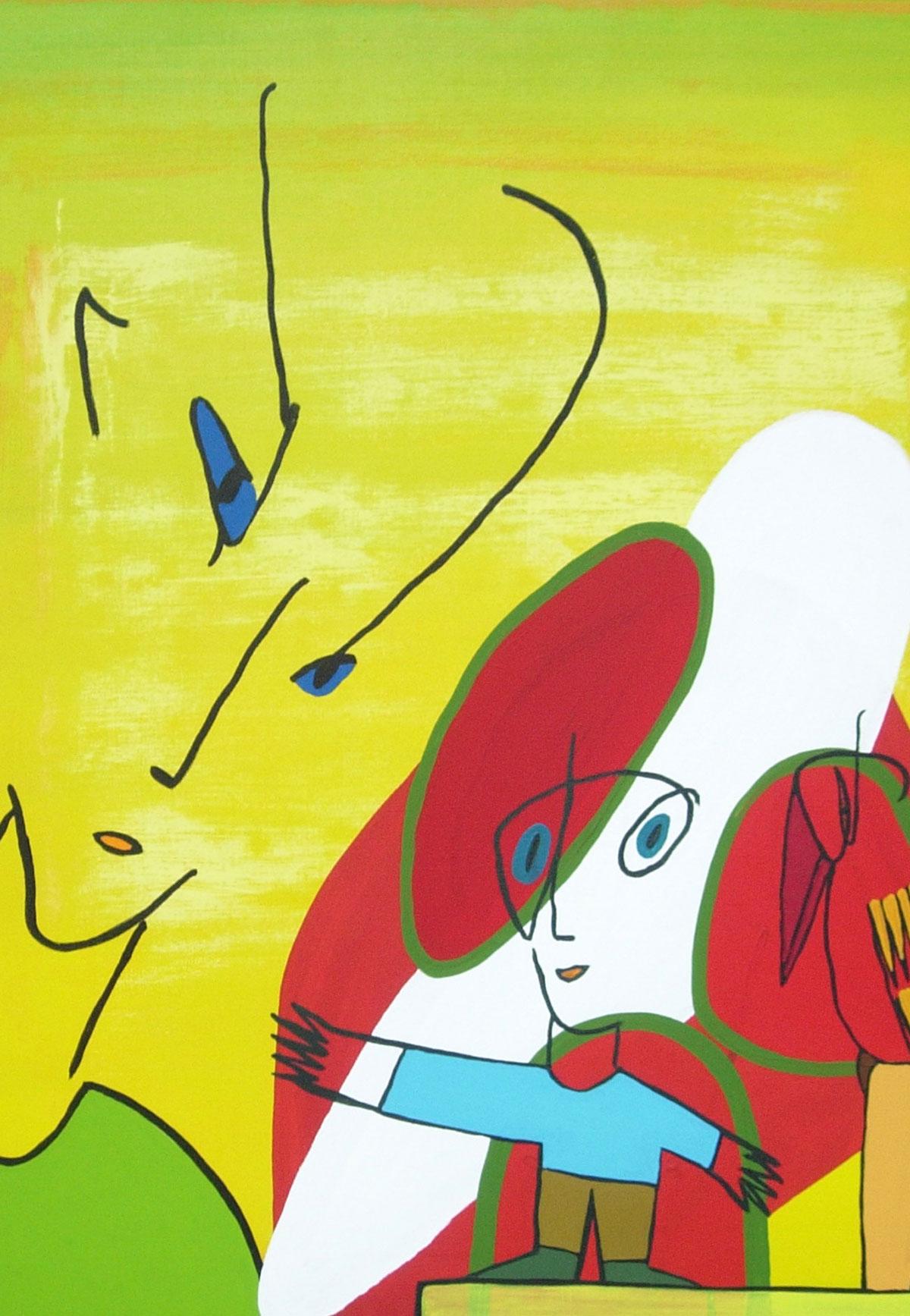 Rolf Jahn: ohne Titel, 2004
