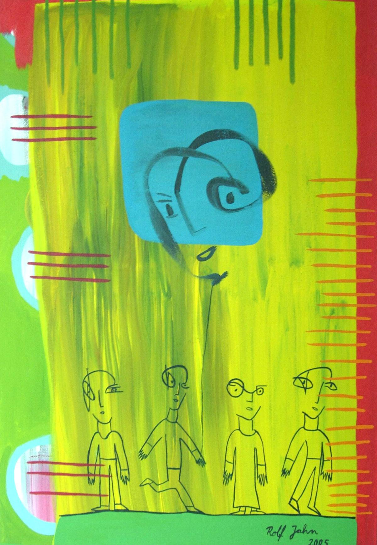 Rolf Jahn: ohne Titel, 2005
