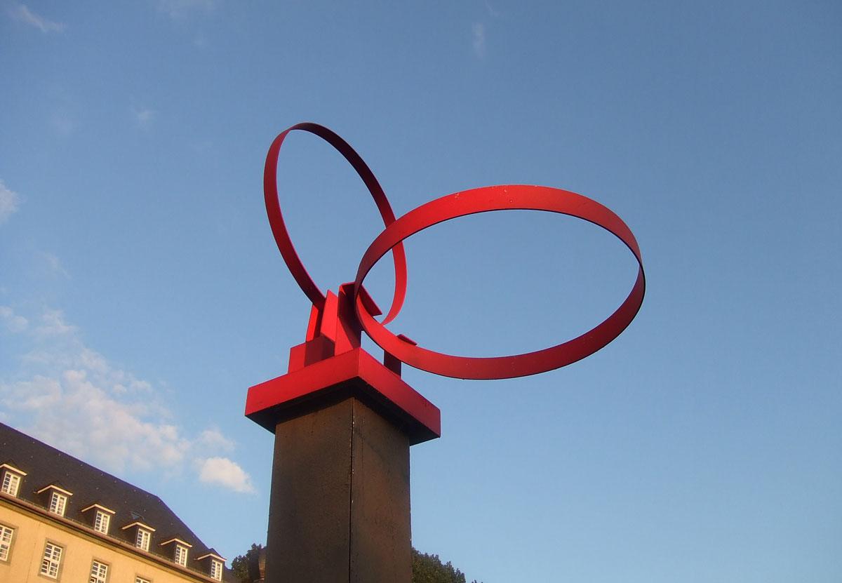 Karl Günter Wolf: Ringskulptur 1