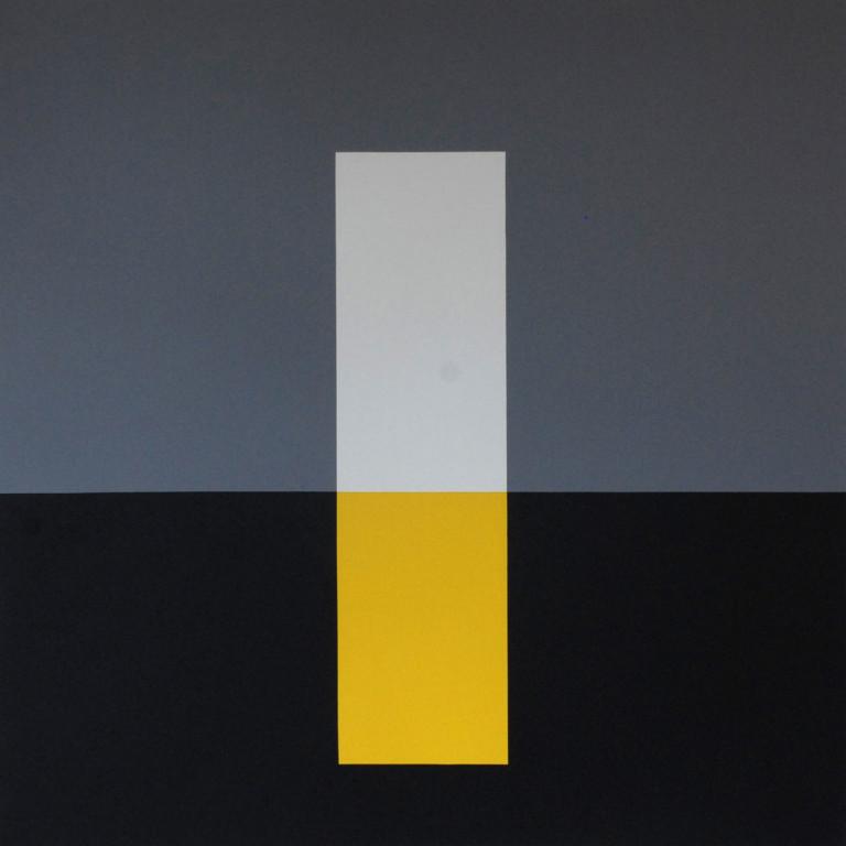 Zimmermann: Gelb-Weiß Oszillation 01