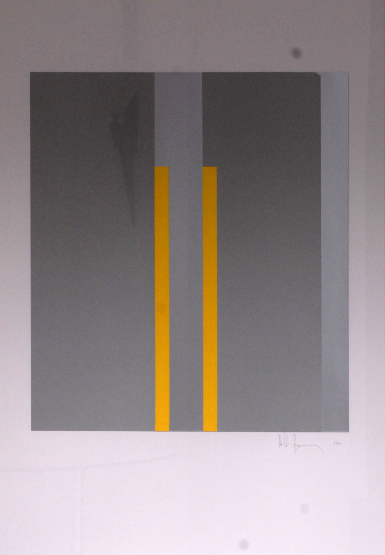 Zimmermann: Parallel-Verlauf, gelb 2003