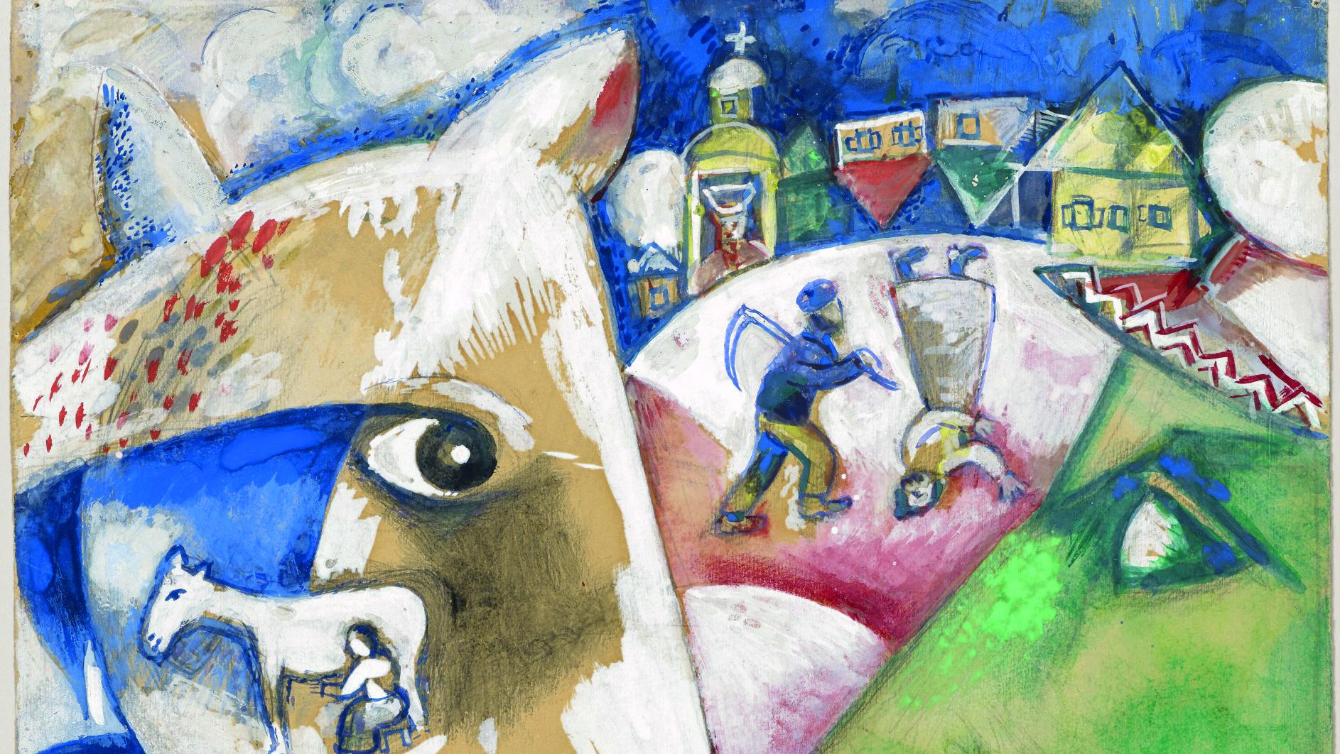 Marc Chagall Ich Und Mein Dorf 1911 Thomas Morus Akademie