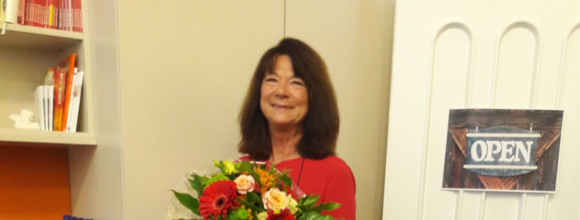 Danke und auf Wiedersehen: Barbara Miebach geht in den verdienten Ruhestand.