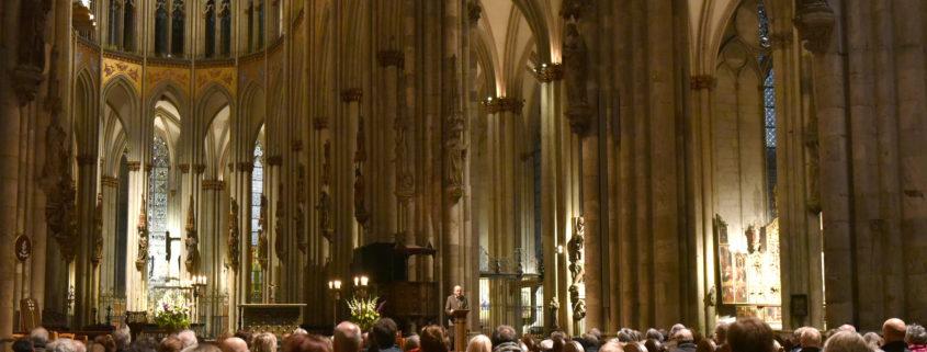 Ein geistlicher Abend im Kölner Dom