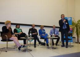 Die Diskussionerunde des 1. Veranstaltungstages