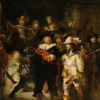 Rembrandt van Rijn: Die Nachtwache (1642), Rijksmuseum © gemeinfrei