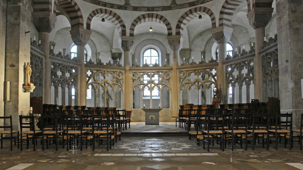 Geistliche Erkundung in der Kirche St. Maria im Kapitol