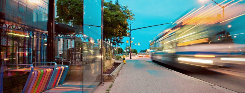 Information zur neuen Haltestelle in Köln
