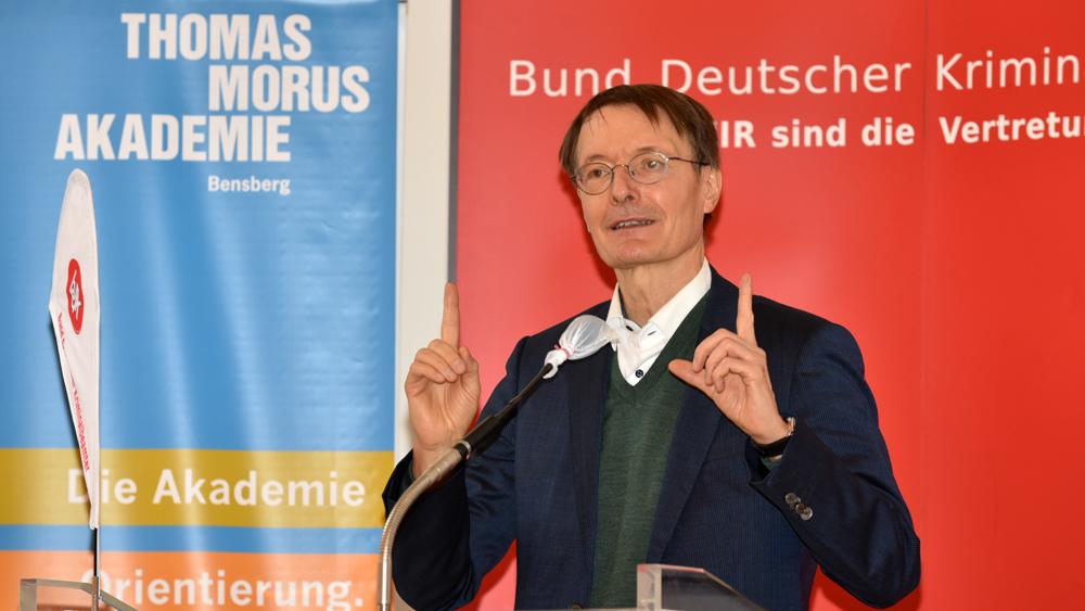 Spd Gesundheitsexperte Prof Dr Karl Lauterbach Zu Gast In Bensberg Thomas Morus Akademie