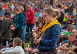 Es findet der ökumenische Kirchentag in Frankfurt statt sowie dezentral. Ein besonderes Erlebnis.