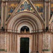 Fassade des Dom von Orvieto.