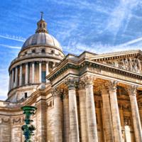 Den Tag ausklingen mit Heinrich Heine auf dem Dach des Pariser Pantheon