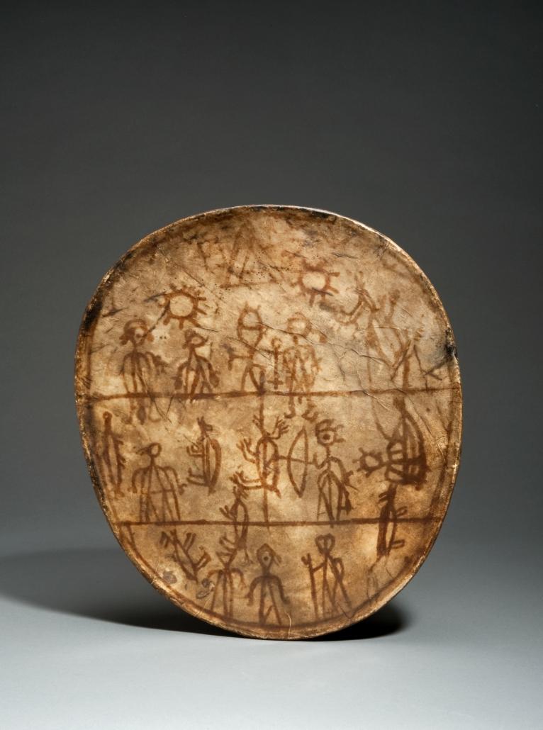 Schamanentrommel_Joseph Beuys und die Figur des Schamanen – Geschichte, Werke, Deutungen und Aspekte seines Rollenverständnisses
