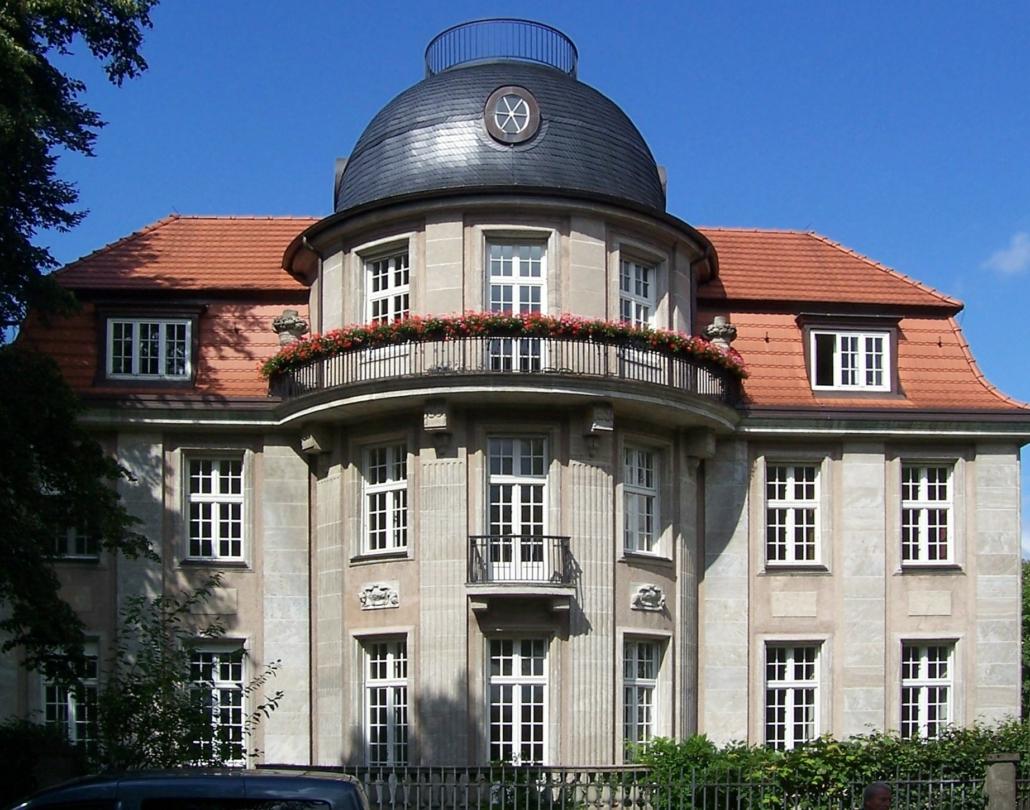 Villa Troplowitz. Sitz des Unternehmers Oscar Troplowitz