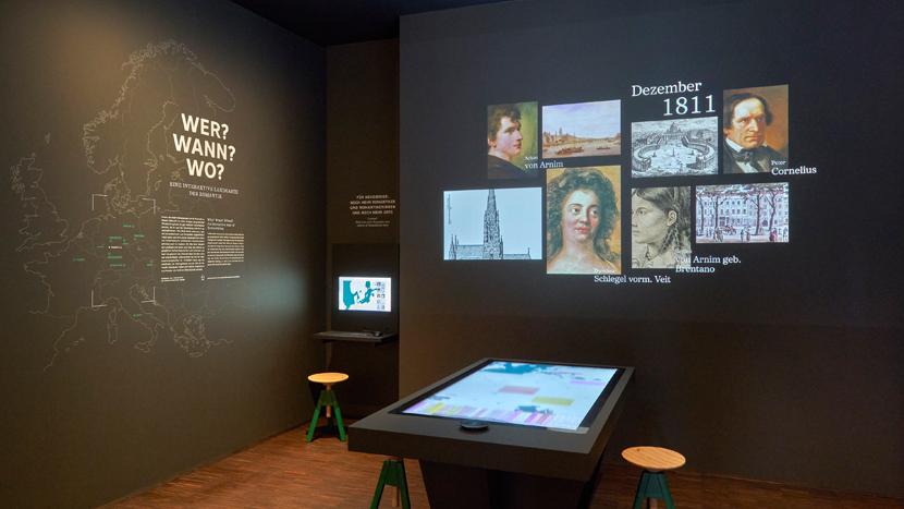 Innenaufnahme des Deutschen Romantik-Museums in Frankfurt - KulturExpress mit der Thomas-Morus-Akademie Bensberg