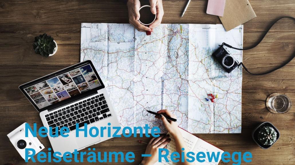Neue Horizonte. Neue Reisen und Ziele für 2022. Kulturreisen der Thomas-Morus-Akademie