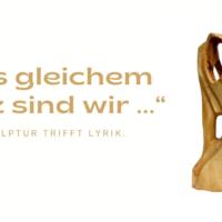 Skulptur trifft Lyrik. Holzarbeiten von Georg Becker und Gedichte von Gisela Becker-Berens