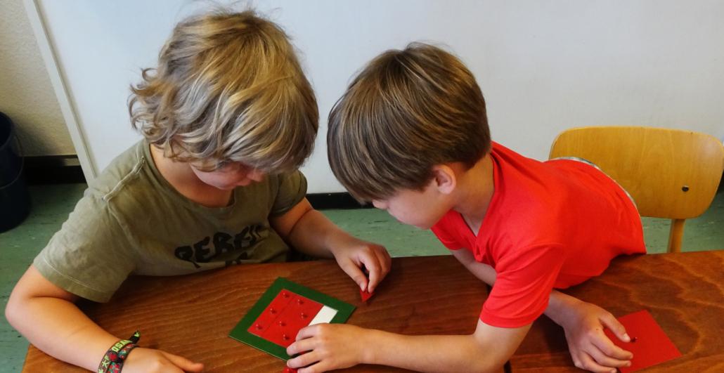 Montessori Pädagogik.