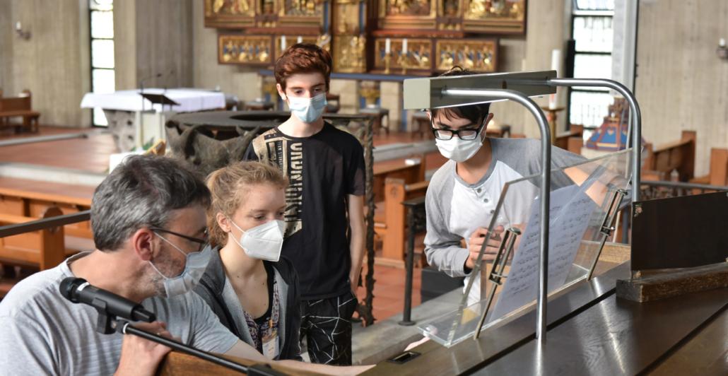OrgelCamp_Orgelmusik fasziniert-Unterricht an der Orgel