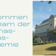 Willkommen in der Thomas-Morus-Akademie. Felicitas Esser-Referentin für Kultur und Gesellschaft